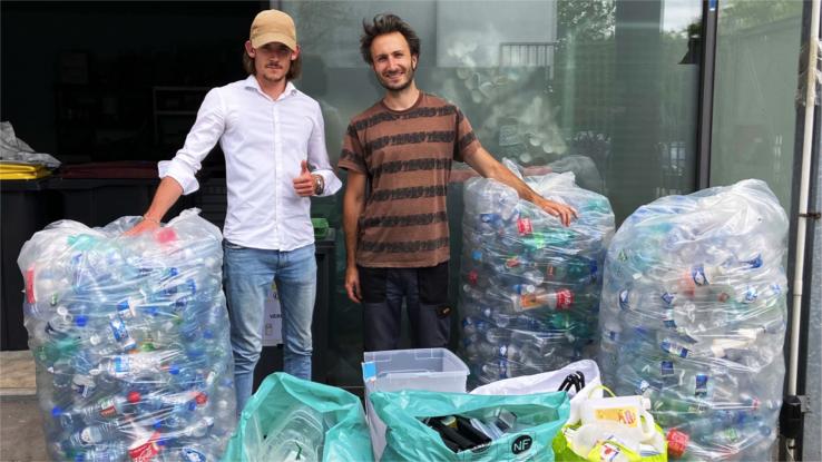 Millenium transforme les déchets plastiques en objets d'ameublement design